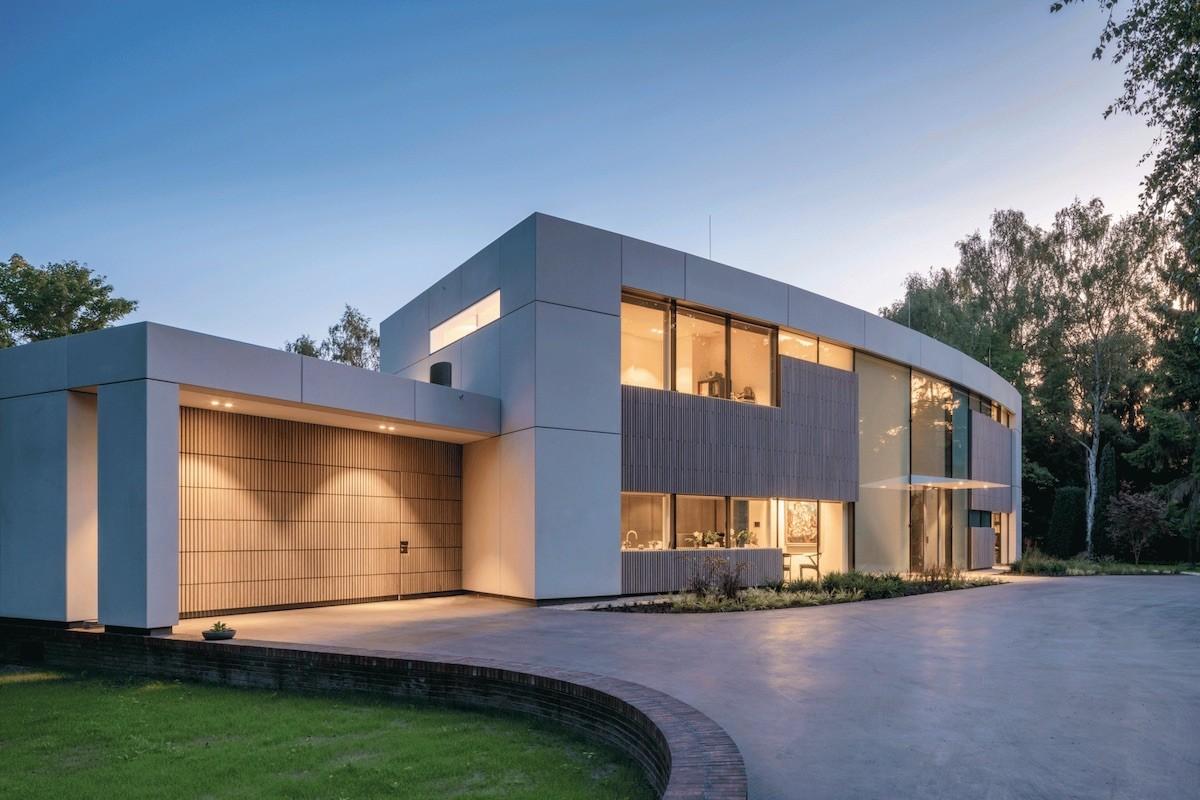 Villa in Eindhoven voorkant